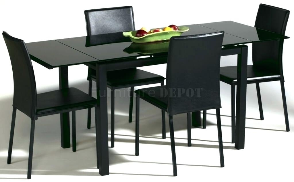 Modern Black Wood Dining Tables – Modern Computer Desk Within Sleek Dining Tables (Image 16 of 25)