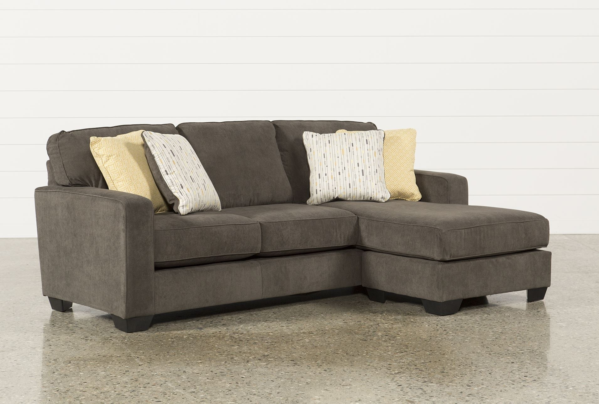 Modern Chesterfield Sofa Distressed Table Ashley Benton Blu Dot Intended For Benton 4 Piece Sectionals (Image 14 of 25)