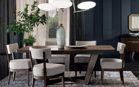 Modern & Contemporary Extendable Dining Table, Buy Extending Dining In Contemporary Extending Dining Tables (View 24 of 25)