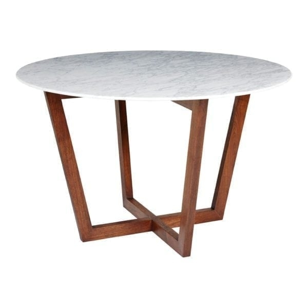 Modern Designer Dining Tables – Solid Wood, Steel And Marble For Lassen 5 Piece Round Dining Sets (Image 21 of 25)