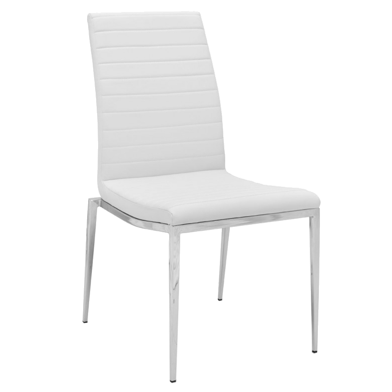 Modern Dining Chairs | Zoe White Dining Chair | Eurway With Regard To White Dining Chairs (Photo 19 of 25)
