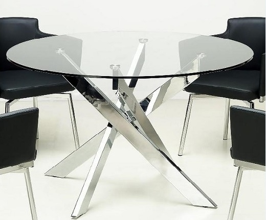 Modern Dining Room Furniture, Glass Dining Tables, Bar Tables And For Dining Room Glass Tables Sets (Image 18 of 25)