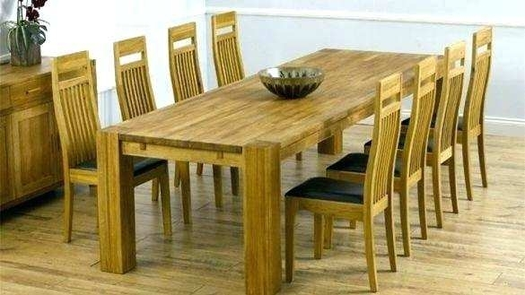 Modern Dining Room Sets For 8 Dining Table And 8 Chairs Set 8 Person Within Dining Tables And 8 Chairs Sets (Image 18 of 25)