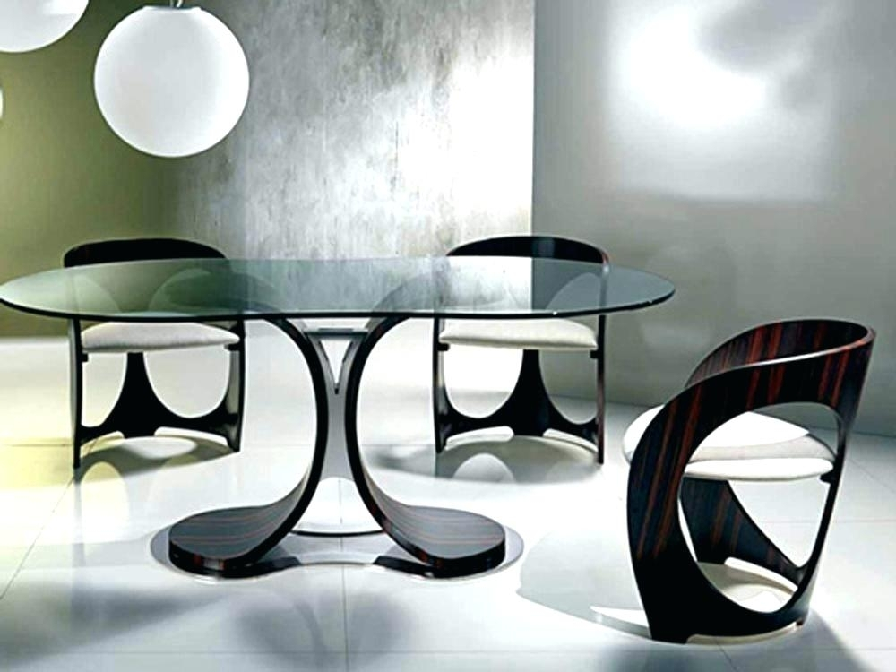 Modern Dining Table And Chairs Black And White Dining Table Chairs Pertaining To Contemporary Dining Room Tables And Chairs (View 22 of 25)