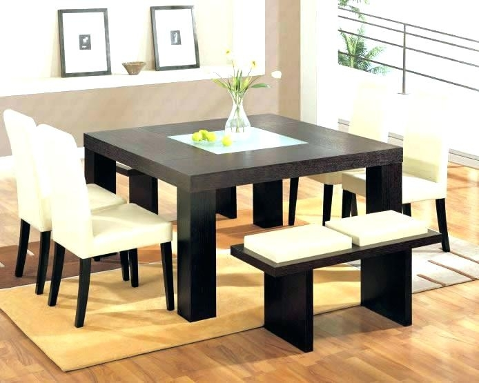 Modern Dining Table For 8 Modern Dining Table Contemporary Dining Regarding Contemporary Dining Sets (View 23 of 25)