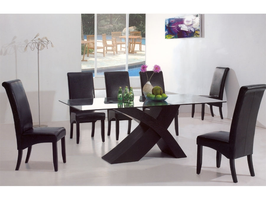 Modern Dining Table Glass : The Holland – Nice, Warm And Cozy Modern Regarding Kitchen Dining Tables And Chairs (View 21 of 25)