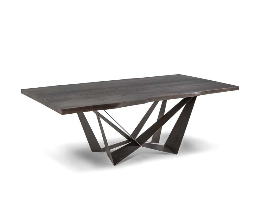 Modern Dining Table Li18 | Modern Dining Pertaining To Contemporary Base Dining Tables (Image 17 of 25)