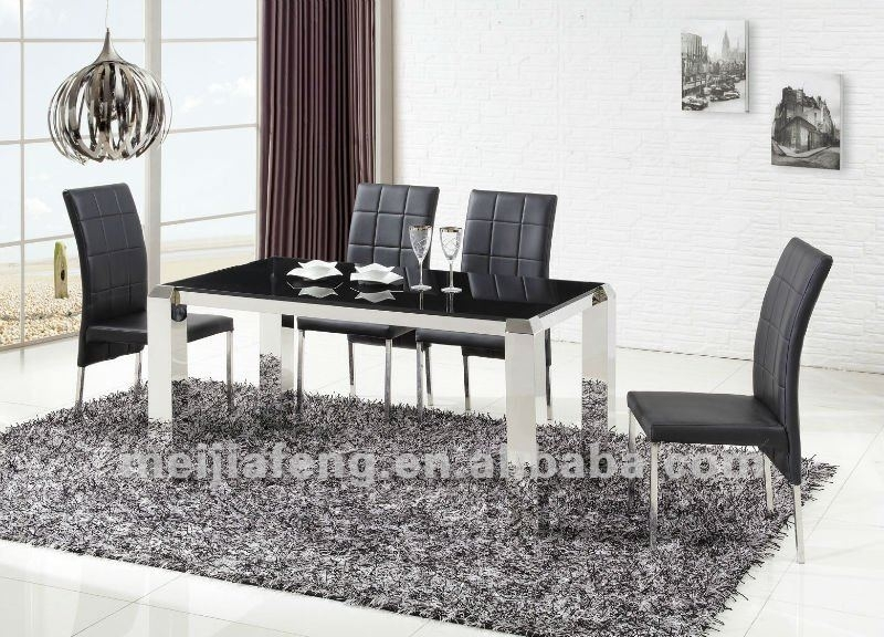 Modern Dining Table Sets Designs In Dining Tables From Furniture On Intended For Modern Dining Sets (Image 20 of 25)