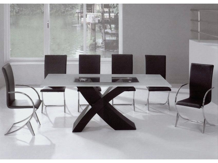 Modern Dining Table Sets Modern Dining Room Sets For 6 Modern Dining For Cheap Contemporary Dining Tables (Image 24 of 25)