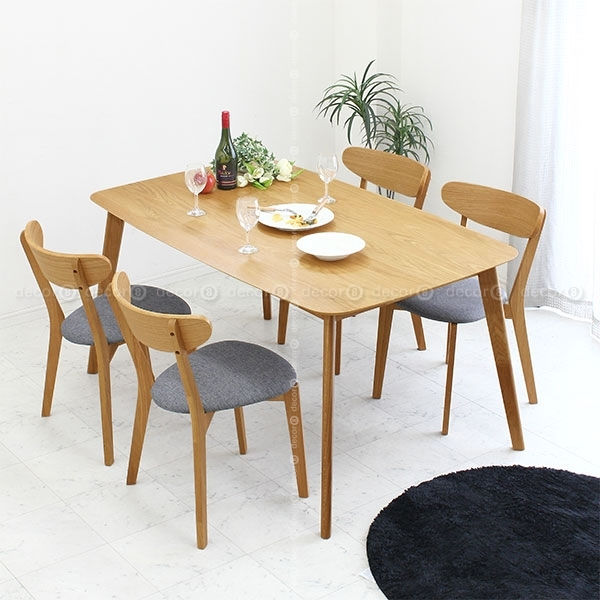 Modern Dinner Tables For Hong Kong Dining Rooms – Wood Furniture For Throughout Solid Oak Dining Tables (Image 17 of 25)