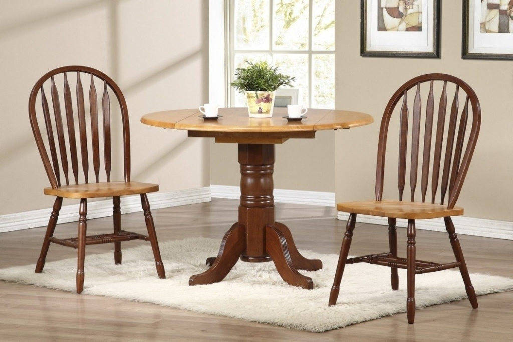 Modern Drop Leaf Kitchen Table Wooden Chair Brown Mahogany Materials Throughout Cream Lacquer Dining Tables (Image 19 of 25)