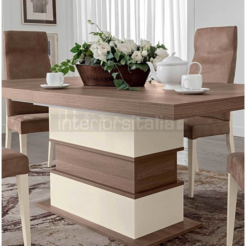 Modern Italian Dining Set | Evolution Collection | Sale Now On! With Italian Dining Tables (Image 17 of 25)