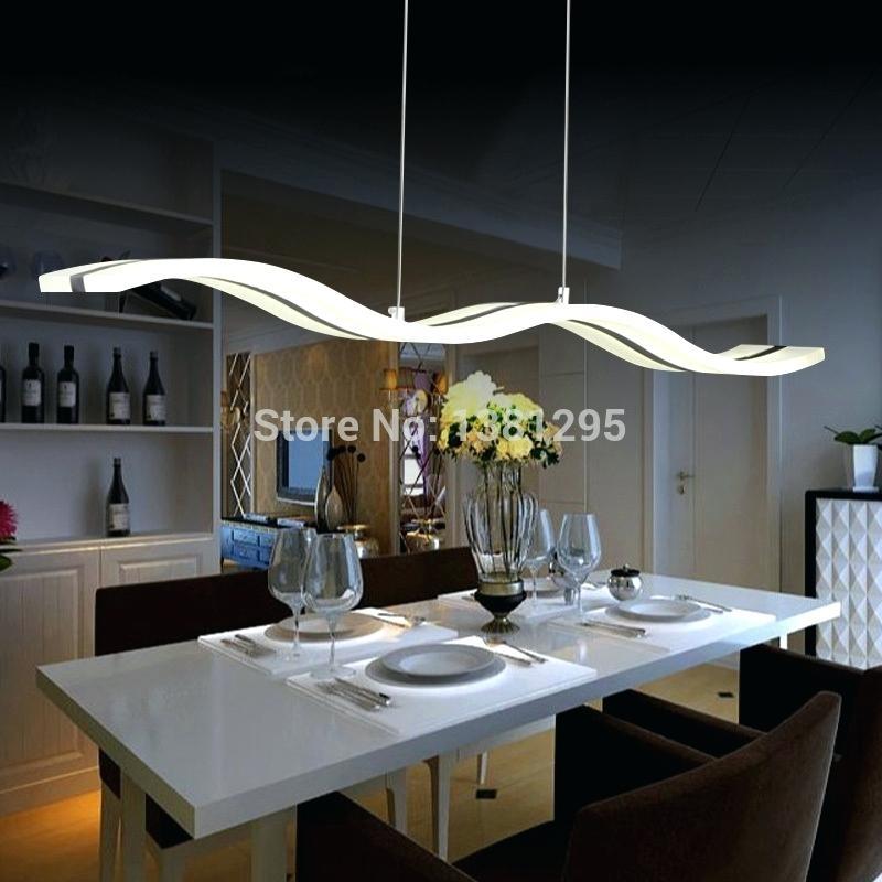 Modern Kitchen Table Lighting Modern Kitchen Tables Table Lighting Throughout Dining Tables With Led Lights (Image 22 of 25)