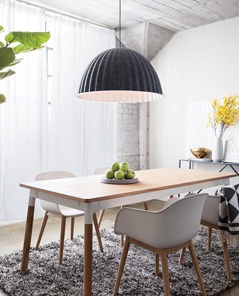 Modern Lighting, Ceiling Fans, Furniture + Home Decor At Lumens For Dining Tables With Led Lights (Image 23 of 25)