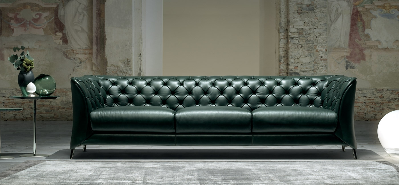 Modern Luxury Sofas | Natuzzi Italia For London Optical Reversible Sofa Chaise Sectionals (Image 14 of 25)