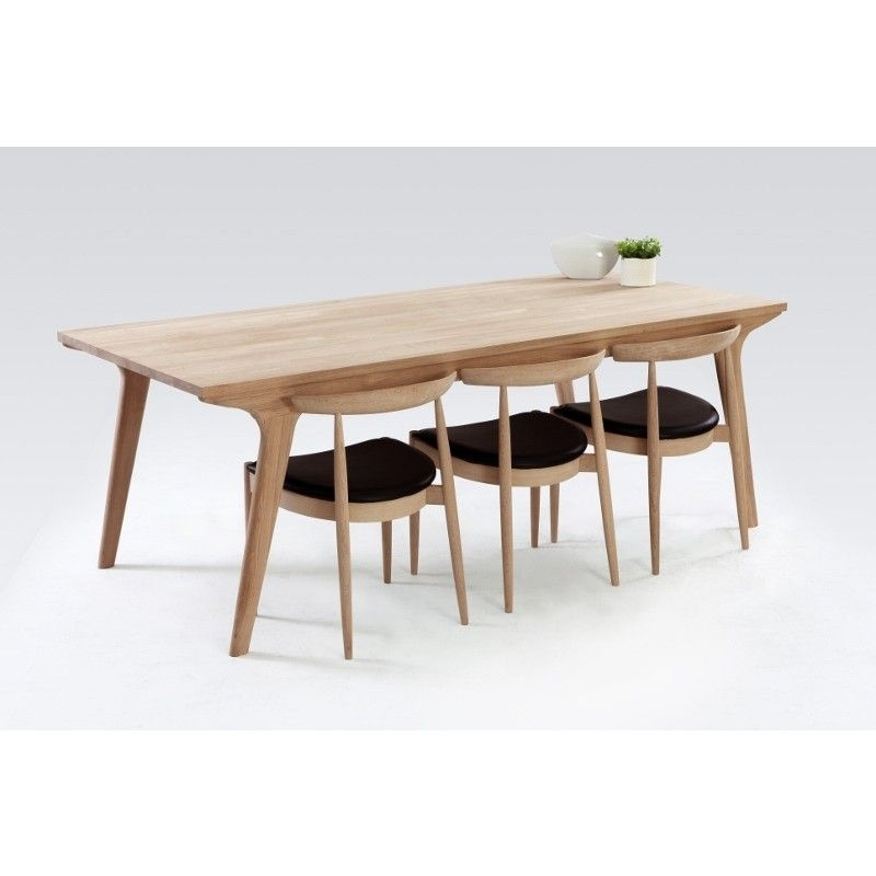 Modern Oak Dining Table | Dining Furniture | Pinterest | Dining, Oak Within Oak Dining Furniture (Image 12 of 25)