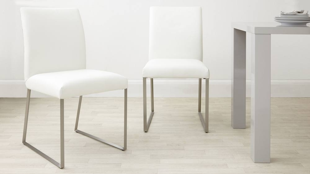 Modern Real Leather Dining Chair | Genuine Leather Hide Uk With Regard To Real Leather Dining Chairs (View 3 of 25)