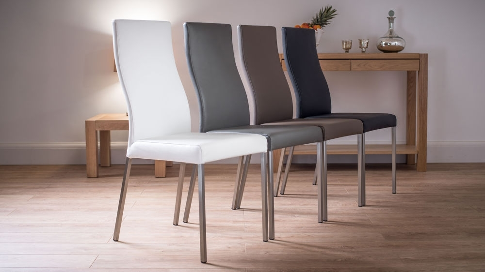 Featured Photo of Real Leather Dining Chairs