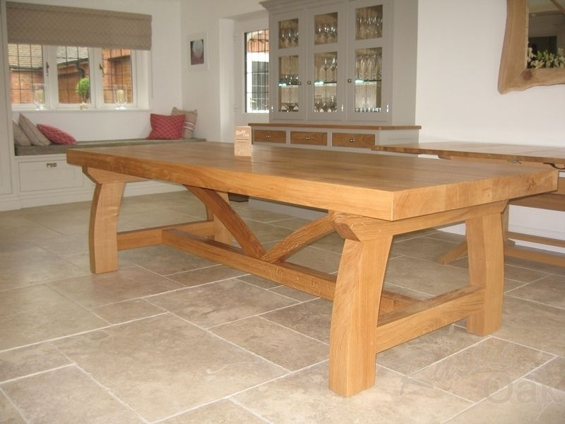 Modern Refectory Dining Table | Extension Mood Board | Pinterest Pertaining To Rustic Oak Dining Tables (Image 9 of 25)