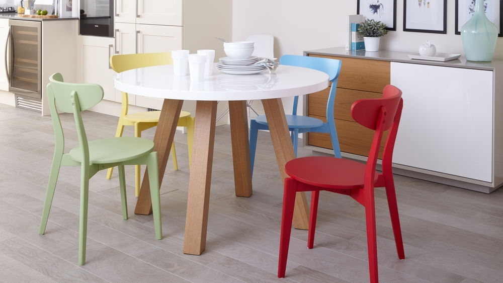 Featured Image of Colourful Dining Tables And Chairs