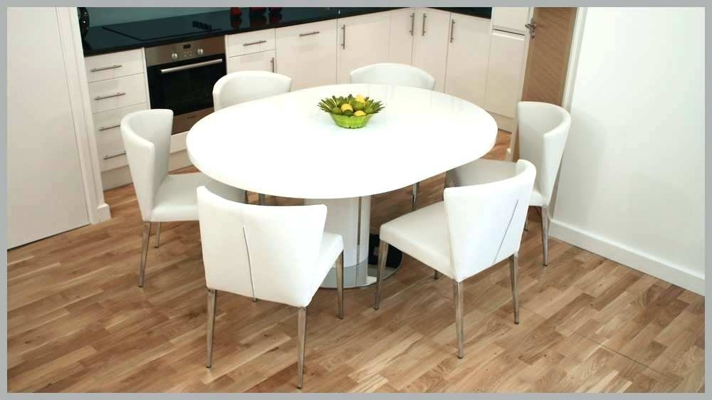 Modern Round Extendable Dining Table – Tinvietkieu Within White Round Extendable Dining Tables (Image 13 of 25)