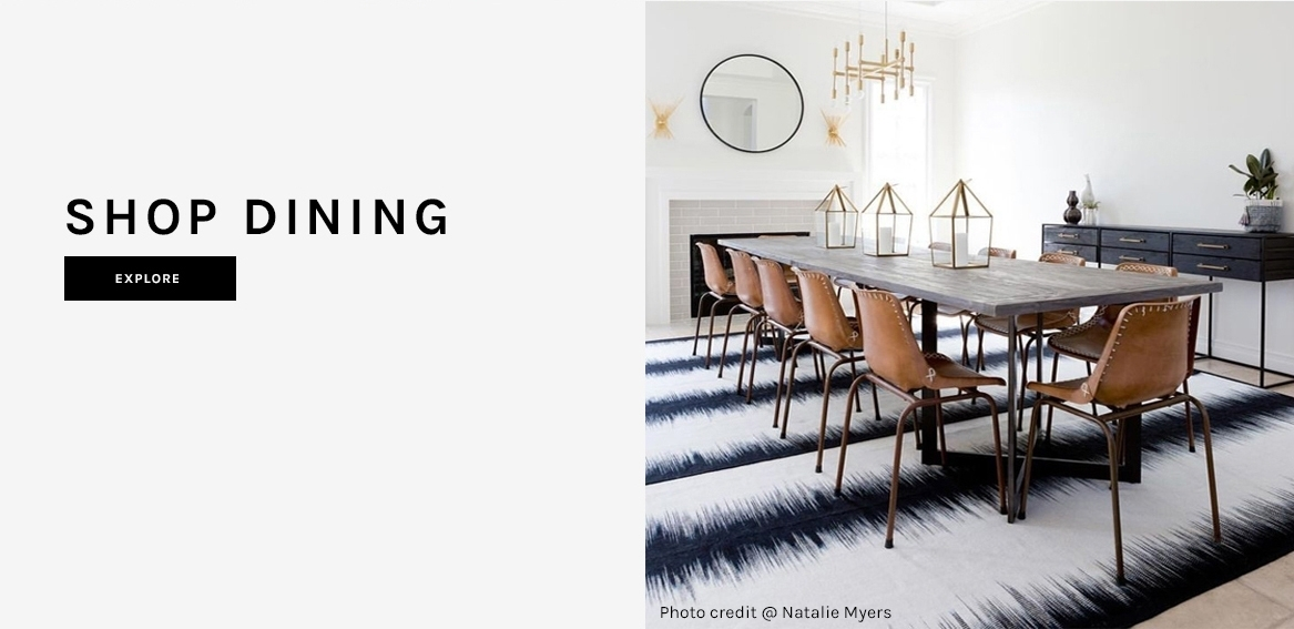 Modern Rugs, Furniture, & Decor | Hd Buttercup Intended For Helms Round Dining Tables (View 21 of 25)