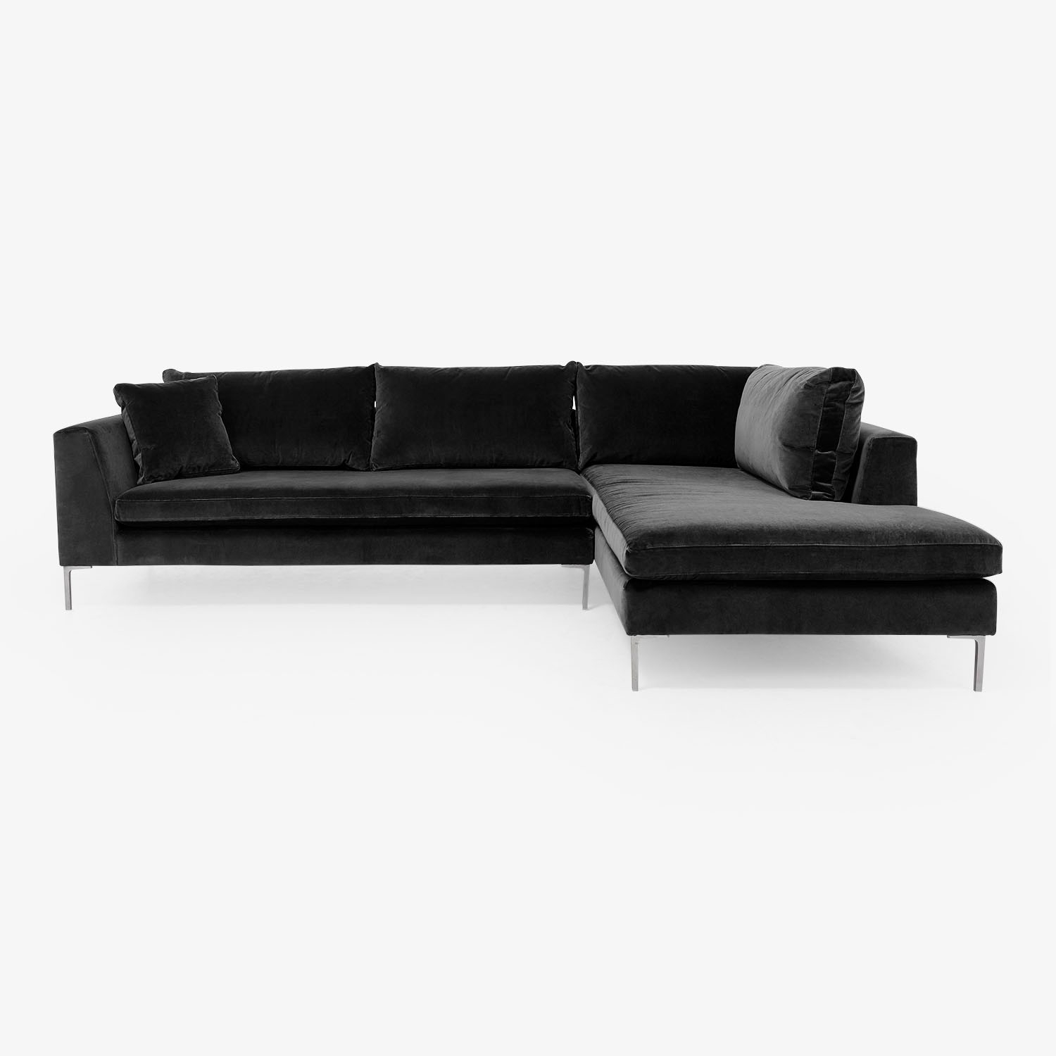Modern Sectional Sofas For Apartments At Abc Home & Carpet In Harper Down 3 Piece Sectionals (Image 17 of 25)