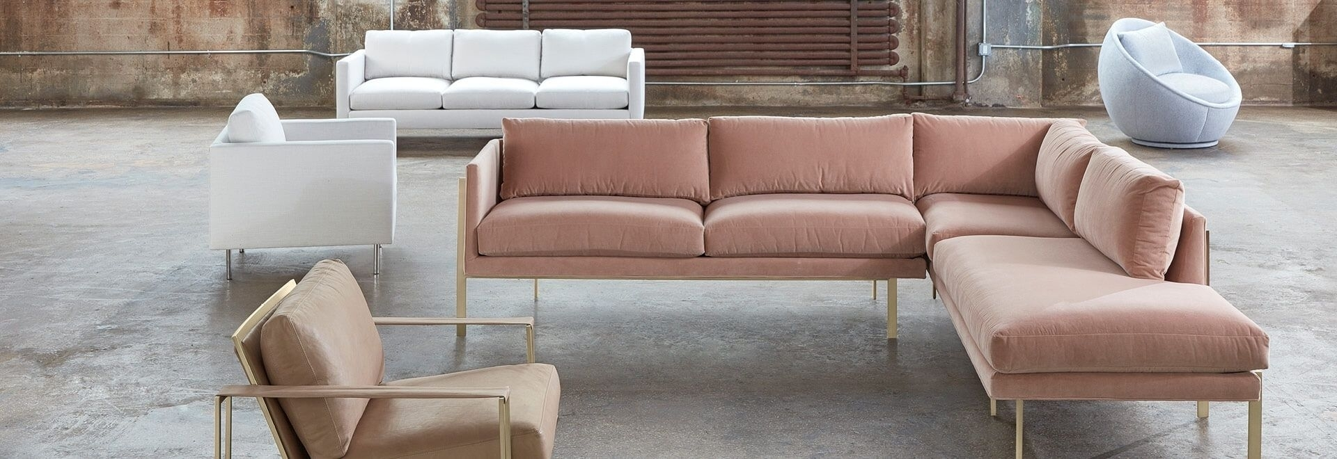 Modern Sectional Sofas For Apartments At Abc Home & Carpet Within Harper Down 3 Piece Sectionals (Image 18 of 25)