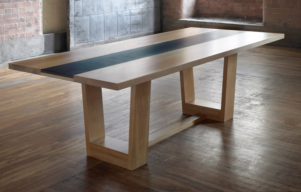 Modern Solid Oak Dining Table Design Ideas – Home Decor Ideas Within Oak Dining Furniture (View 21 of 25)