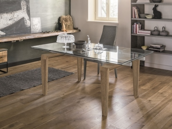Modern Totem Dining Tabletarget Point | Retro And Vintage Style Within Retro Glass Dining Tables And Chairs (View 22 of 25)