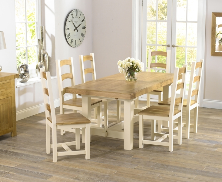 Modern Upholstered Dining Chairs For Sale – Elites Home Decor Inside Cream And Wood Dining Tables (View 7 of 25)