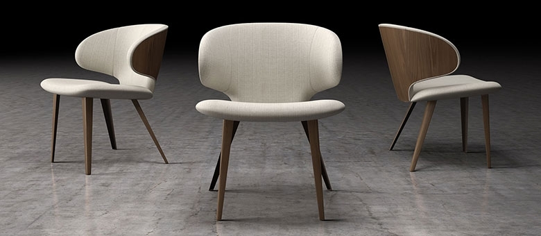 Modloft Modern Furniture, Dining Chairs Throughout Dining Chairs (View 21 of 25)