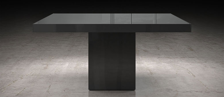 Modloft Modern Furniture, Dining Tables With Regard To 87 Inch Dining Tables (Image 13 of 25)