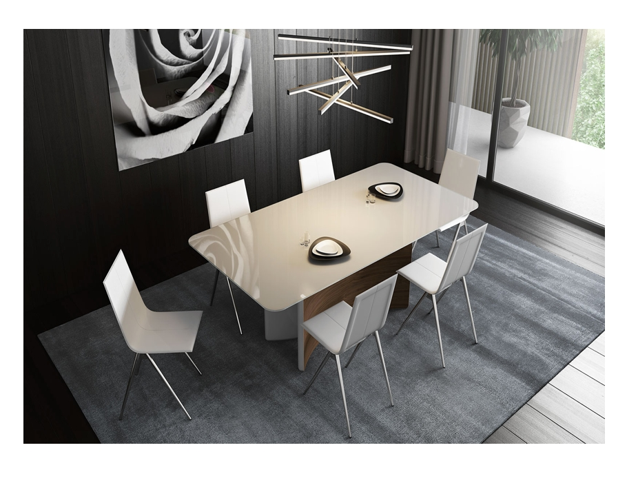 Modloft Richmond 87Inch Dining Table | Matthew Izzo Throughout 87 Inch Dining Tables (Image 14 of 25)