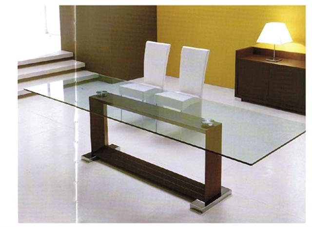 Monaco Modern Italian Dining Table Pertaining To Monaco Dining Tables (View 4 of 25)