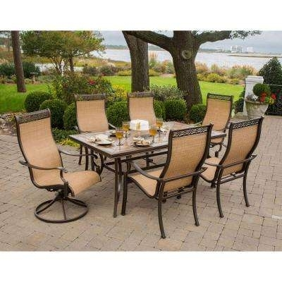 Monaco – Patio Dining Sets – Patio Dining Furniture – The Home Depot For Monaco Dining Sets (View 9 of 25)