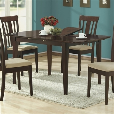 Monarch Specialties I 1897 Logan Dining Table | Lowe's Canada Regarding Logan Dining Tables (View 3 of 25)