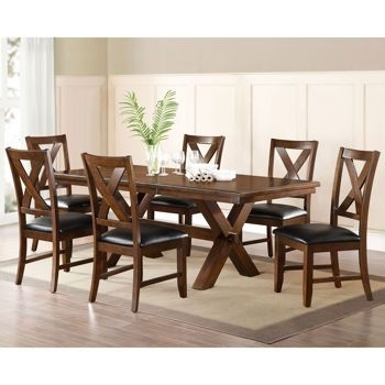 Montcross 7 Piece Dining Set | Dining Sets | Pinterest | Dining Within Craftsman 7 Piece Rectangle Extension Dining Sets With Arm & Side Chairs (View 22 of 25)
