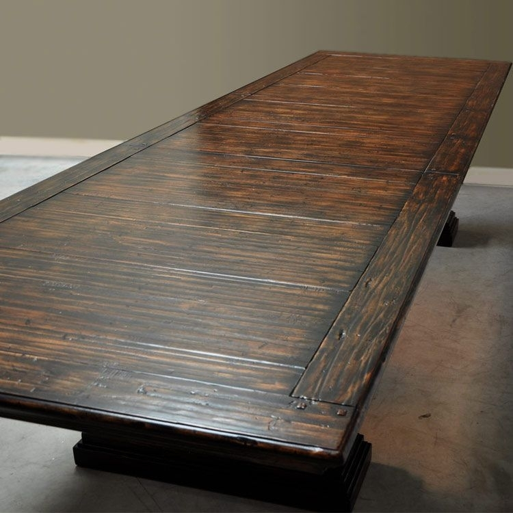 Montego Extra Long Dining Table | For The Home | Pinterest | Dining Within Long Dining Tables (View 20 of 25)