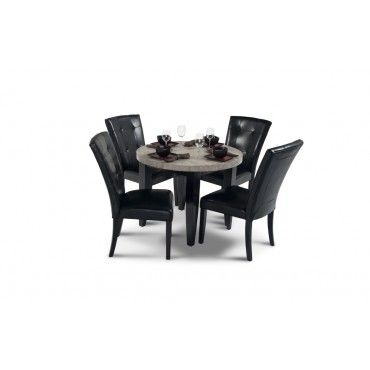"""Montibello 40"""" Round Dining 5 Piece Set 
