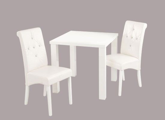 Montrond Small White High Gloss Dining Table 17Ld399 For Small White Dining Tables (View 12 of 25)