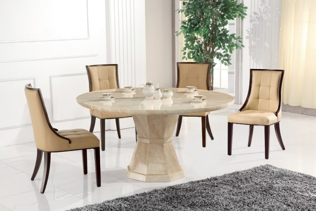 Morenza Round Dining – Furniture Shop Dublin | Living, Kitchen For Solid Marble Dining Tables (View 13 of 25)
