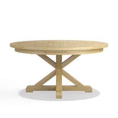 """Morgan Dining Table, Round, 60"""", Oak 