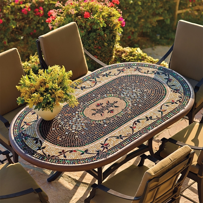 Mosaic Dining Table – Itboy (Image 12 of 25)