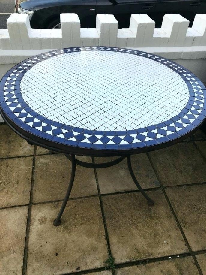Mosaic Dining Table Mosaic Dining Table Mosaic Dining Tables For Pertaining To Mosaic Dining Tables For Sale (View 2 of 25)