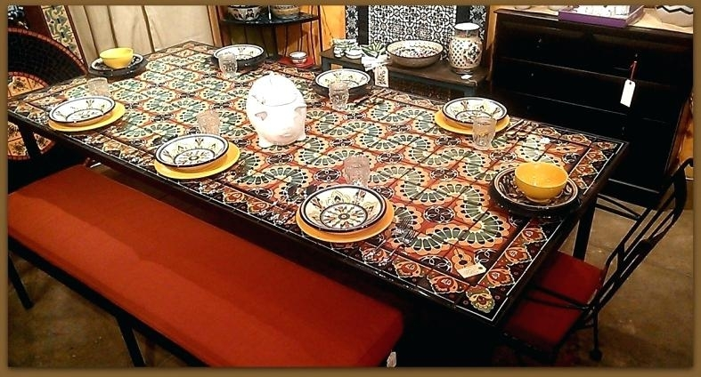Mosaic Dining Table – Travelward Within Mosaic Dining Tables For Sale (View 6 of 25)
