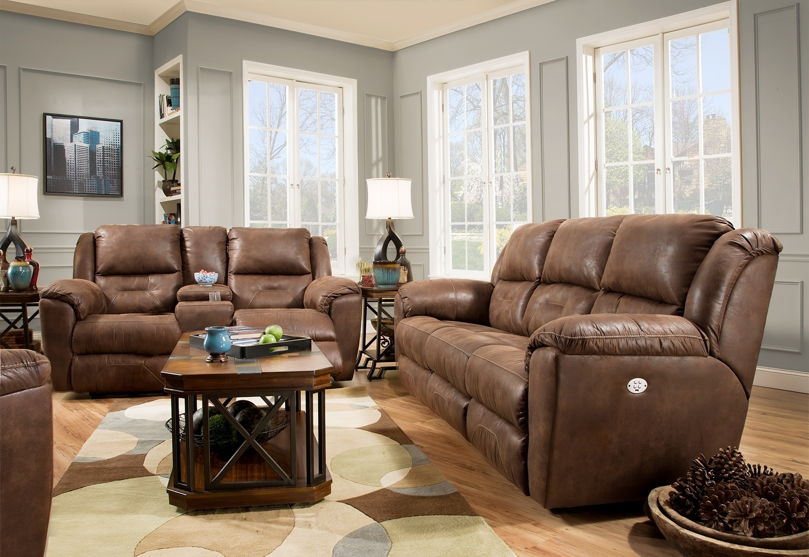 Motion Furniture Products – Recliner Chairs, Sofas And More Intended For Travis Cognac Leather 6 Piece Power Reclining Sectionals With Power Headrest & Usb (Image 19 of 25)