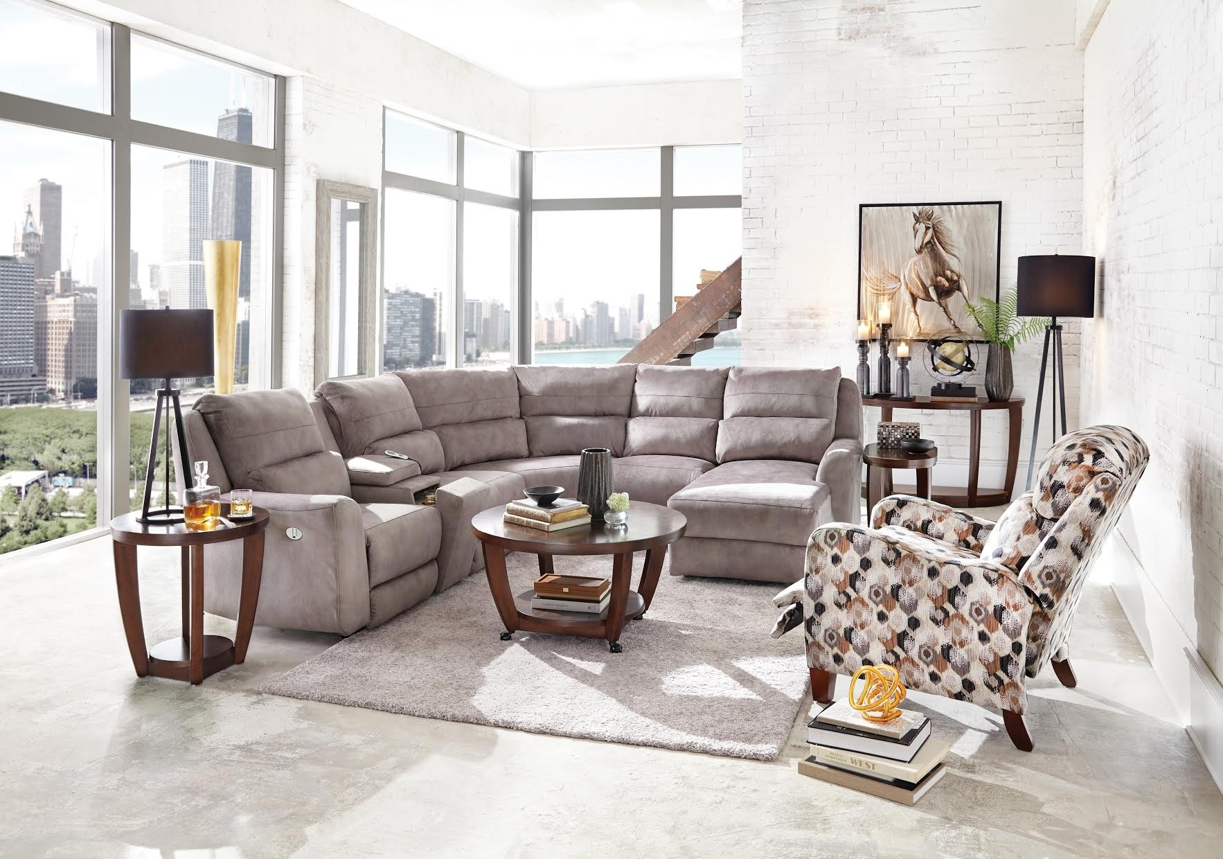 Motion Furniture Products – Recliner Chairs, Sofas And More With Travis Cognac Leather 6 Piece Power Reclining Sectionals With Power Headrest & Usb (Image 20 of 25)