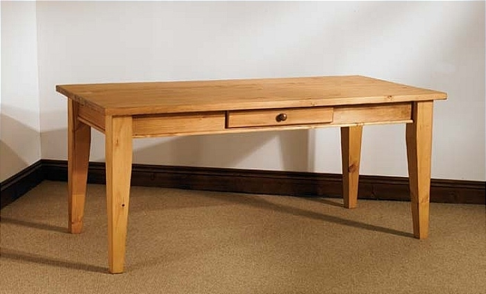 Mottisfont Waxed Pine 5Ft X 3Ft Dining Table With 3Ft Dining Tables (View 11 of 25)