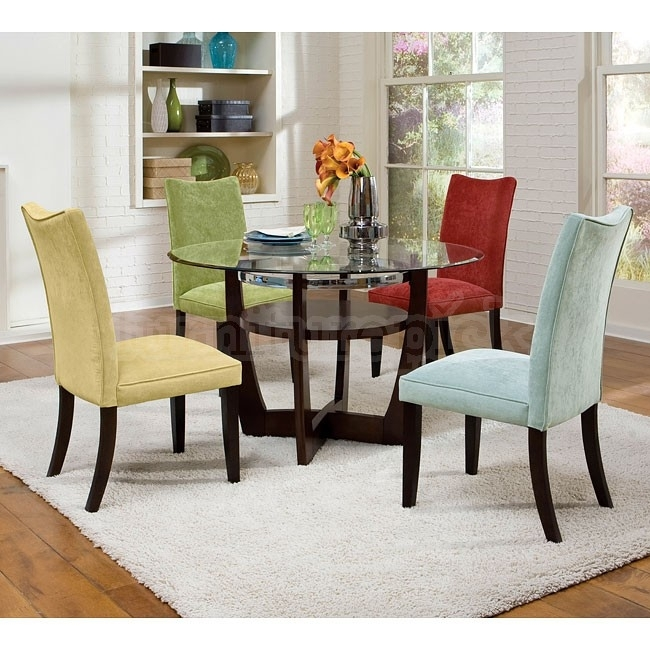 Multi Colored Dining Room Chairs Chairs Seating Indoor Wicker Dining Intended For Colourful Dining Tables And Chairs (Image 22 of 25)